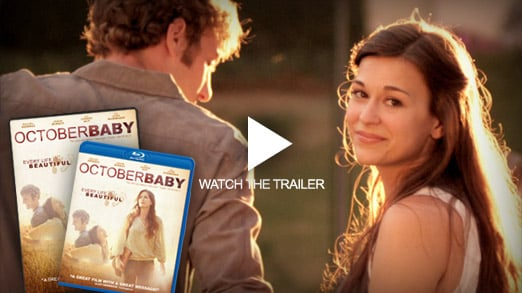 October Baby - DVD/Blu-Ray Available Now!